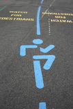 Watch for Pedestrians Royalty Free Stock Photo