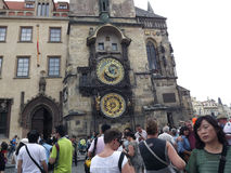Watch Prague Orloy 1 Royalty Free Stock Photography