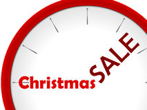 Watch red christmas sale Stock Photos