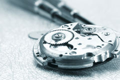 Watch repair Royalty Free Stock Photo