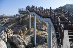Sightseeing bridge Royalty Free Stock Images