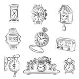 Watch Set Royalty Free Stock Photos
