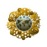 Watch Steampunk style Stock Image