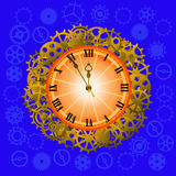 Watch Steampunk style Royalty Free Stock Photography