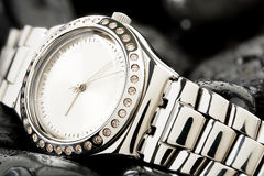 Watch on stones Stock Photography