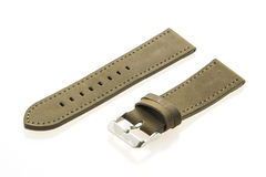 Watch strap leather Royalty Free Stock Images