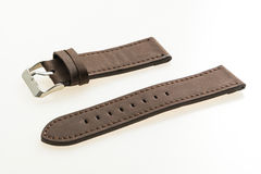 Watch strap leather Stock Photography