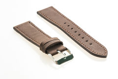 Watch strap leather Stock Images