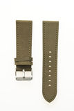 Watch strap leather. Isolated on white background royalty free stock image