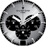 Watch Template B. Watch face template vector illustration Royalty Free Stock Photo