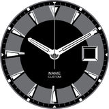 Watch Template J. Watch face template  illustration Royalty Free Stock Photography