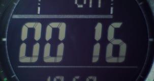 Watch timer 30 sec. Closeup 4k stock video