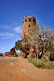 Watch Tower. In Grand Canyon Royalty Free Stock Photos