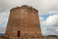 Watch Tower Almeria Stock Images