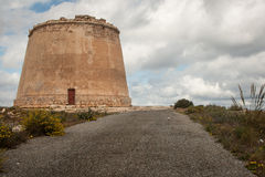 Watch tower almeria Royalty Free Stock Photo