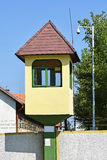Watch tower of the army base Stock Image