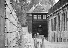 Auschwitz-Birkenau concentration camp Stock Image