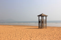 In the watch tower Beach Royalty Free Stock Photography