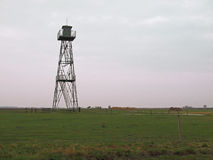 Watch tower at the border. Former watch tower close to the Austrian-Hungarian border where the Iron Curtain was. Today the area is world heritage listed and stock photography