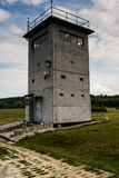 Watch tower. At the border east, west royalty free stock image