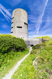 Watch tower and bunker Stock Photography