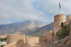 Watch tower of a fort Royalty Free Stock Photos