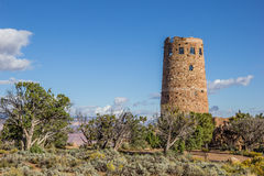 Watch tower at the Grand Canyon Stock Images