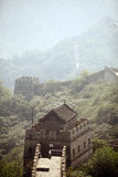 Watch tower from the Great Wall of China. Royalty Free Stock Images