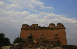 Watch tower on great wall  Royalty Free Stock Photo