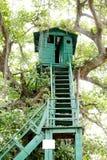 Watch tower at Jhirna Forest, Jim Corbett Stock Photo