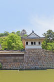 Watch tower and main keep of Marugame castle, Japan Stock Image