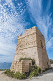 Watch tower in Malta. Coastal watch tower near Blue Grotto in Malta Stock Image