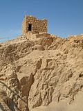 Watch Tower at Masada Stock Image