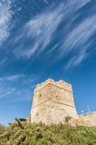 Watch Tower near Blue Grotto in Malta Stock Photos