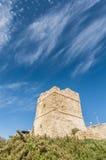 Watch Tower near Blue Grotto in Malta. Coastal watch tower near Blue Grotto in Malta Stock Photos