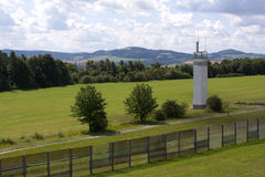 Watch Tower at Point Alpha. In Hesse, Germany, Thuringia, West Germany, Fulda Gap, Cold War Stock Image