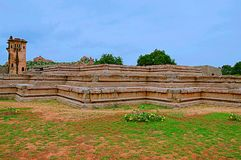 Watch tower of royal fort Zenana Enclosure, Hampi, Karnataka. India Royalty Free Stock Photos