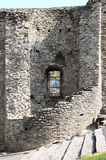 Watch tower ruins in the city wall of Susa, Italy Stock Photos