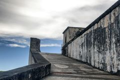A watch tower in San Juan Royalty Free Stock Photography