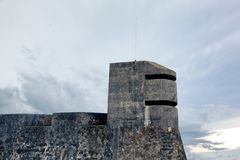 A watch tower in San Juan Royalty Free Stock Photo