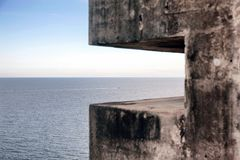 A watch tower in San Juan Stock Images