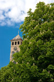 Watch tower sarajevo stock photo