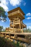 Watch tower at Viru bogs Stock Photos