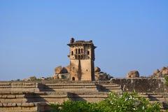 Watch Tower In Zenana Enclosure, Hampi Monuments, Karnataka Stock Image