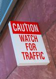 Watch For Traffic Stock Photography