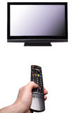 Watch TV? Royalty Free Stock Photo