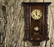 Watch vintage wall. Royalty Free Stock Photography