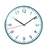 Watch on white Stock Images