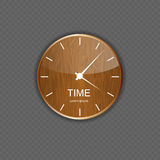 Watch wood application icons Royalty Free Stock Image