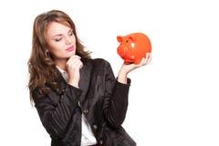 Watch your savings. Stock Photo